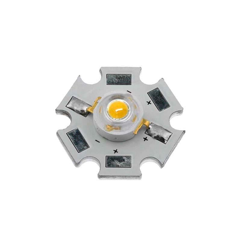 Chip led High Power Bridgelux 1x1W, Blanco cálido